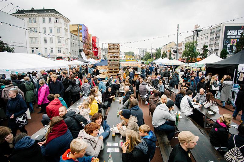Veganes Straßenfest Hamburg 2018